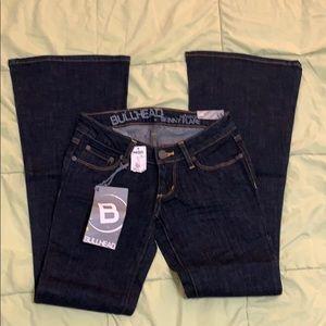 Brand New Bullhead Newport Skinny Flare Jeans
